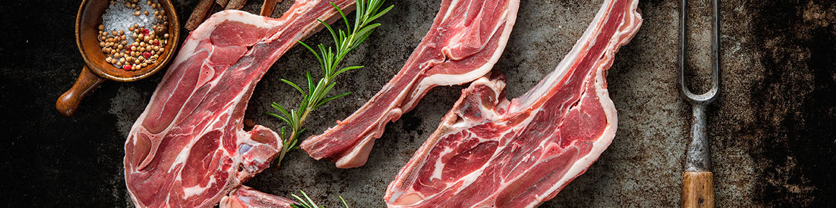 데블스램에서 사용하는 질 좋은 양고기